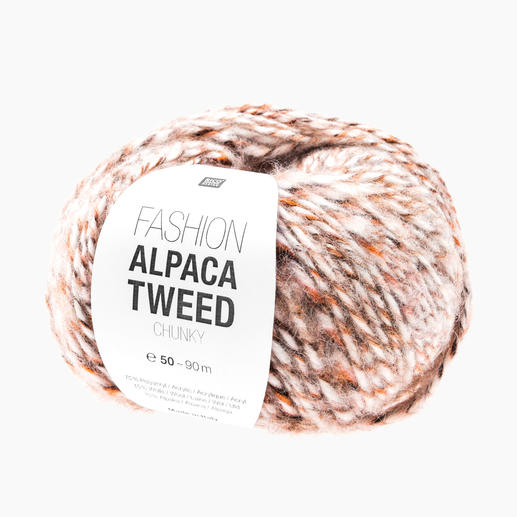 Fashion Alpaca Tweed Chunky von Rico Design