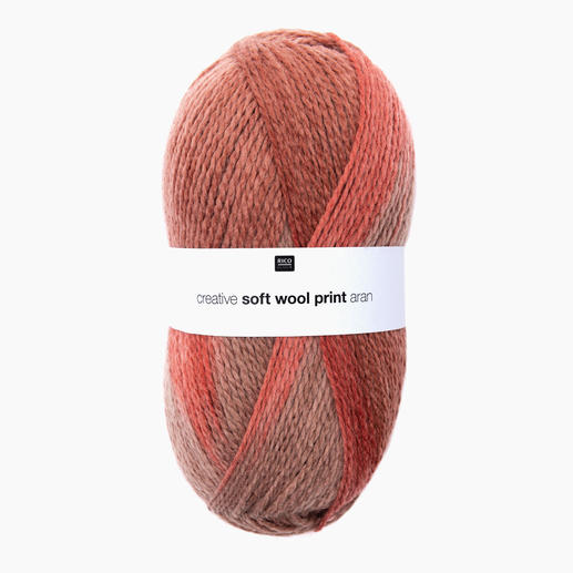 Creative Soft Wool Print Aran von Rico Design