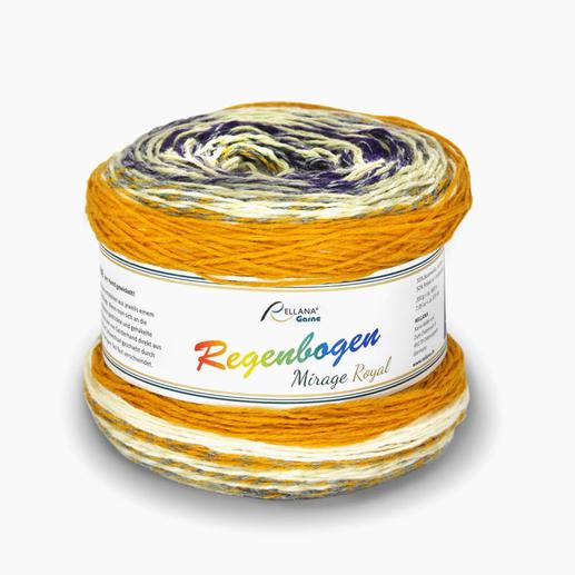 Regenbogen Mirage Royal von Rellana® Garne