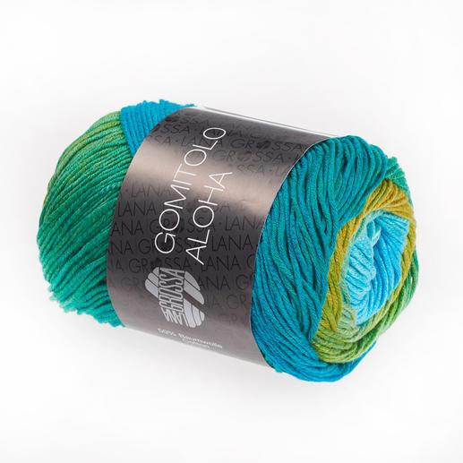 304 Türkis/Blau/Smaragd/Apfelgrün/Gelboliv/Himmelblau