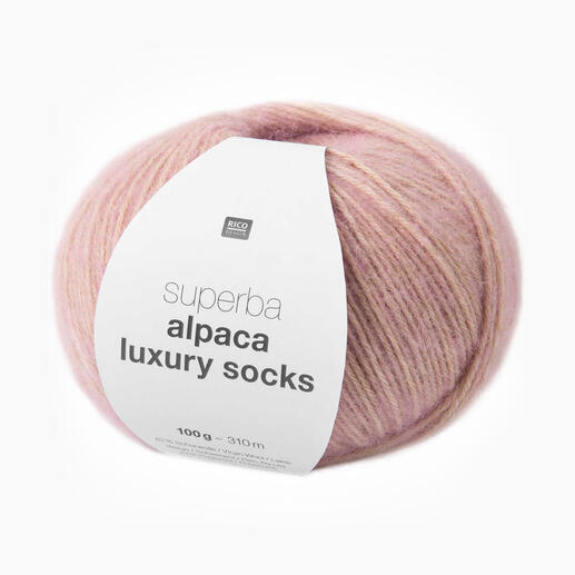 Sockenwolle Superba Alpaca Luxury Socks von Rico Design