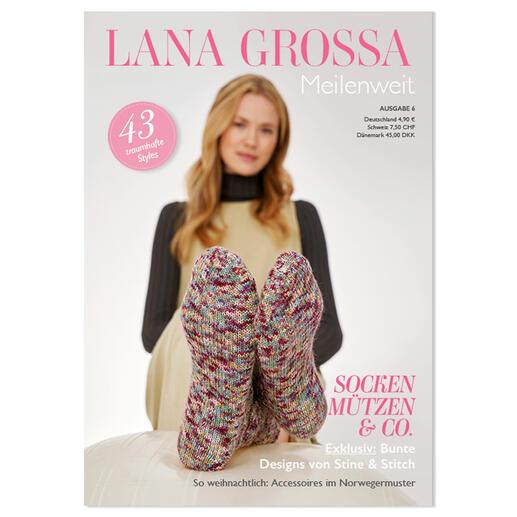 Heft - Lana Grossa Meilenweit Nr. 6