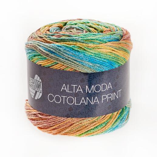 Alta Moda Cotolana Print von Lana Grossa