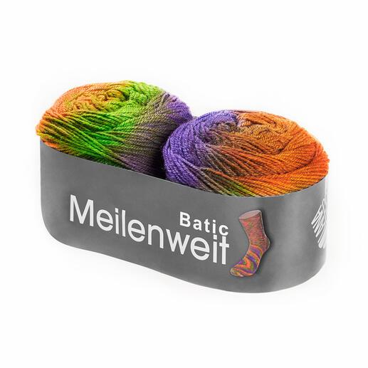 6104 Orange/Violett/Grün
