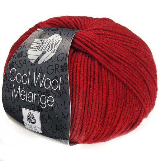 Lana Grossa 143 bernstein meliert 50 g Fb Cool Wool Melange Wolle Kreativ