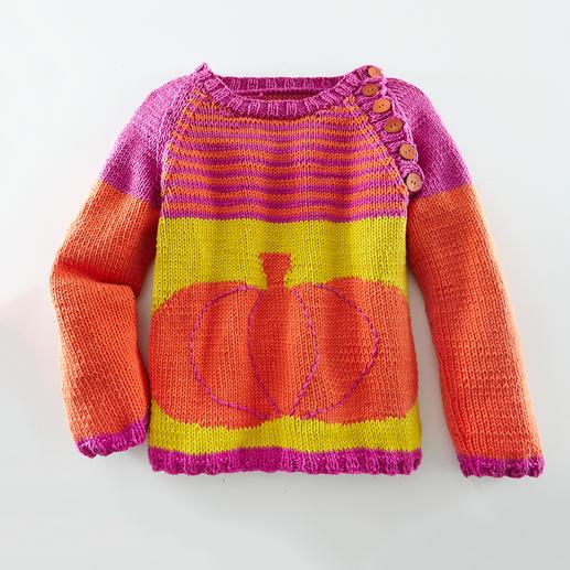 Anleitung 804/4, Raglan-Kinderpullover aus Cotonara von Junghans-Wolle