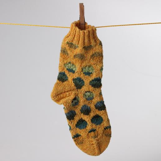 Anleitung 805/3, Socken, aus Freizeit-Color 6-fädig von Junghans-Wolle
