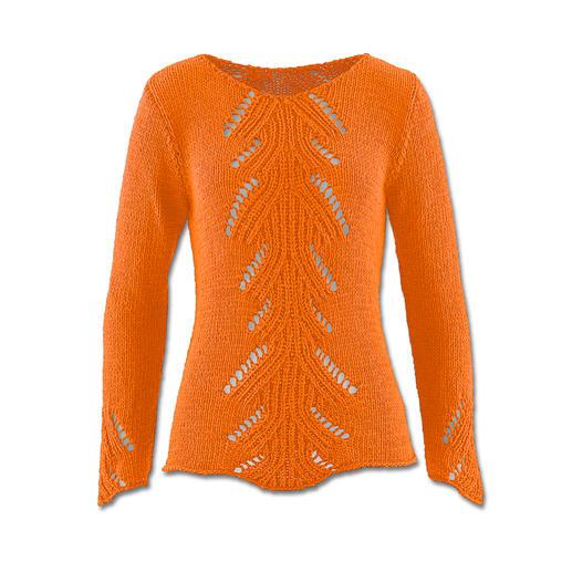 Anleitung 404/5, Pullover aus Bandana von Junghans-Wolle