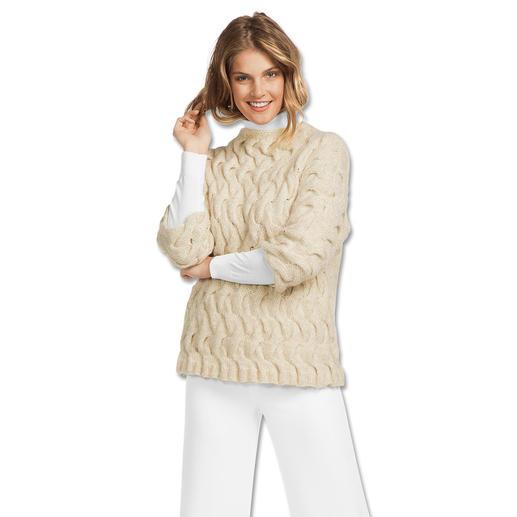 Anleitung 156/7, Damen Pullover aus Alpaca-Cotton von Junghans-Wolle