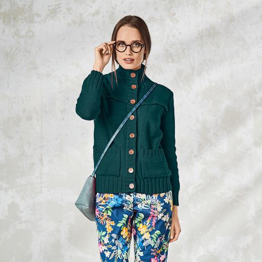 Anleitung 059/8, Damen Jacke aus Cotonara von Junghans-Wolle