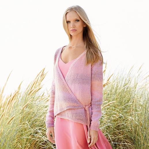 Anleitung 089/9, Wickeljacke aus Fashion Cotton Light & Long dk von Rico Design