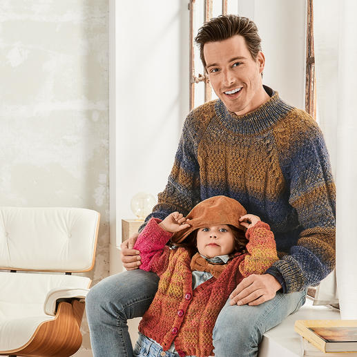 Anleitung 133/9, Pullover aus Monello-90 Color von Junghans-Wolle
