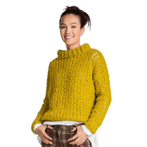 Anleitung 173/9, Damenpullover aus Cara von Junghans-Wolle