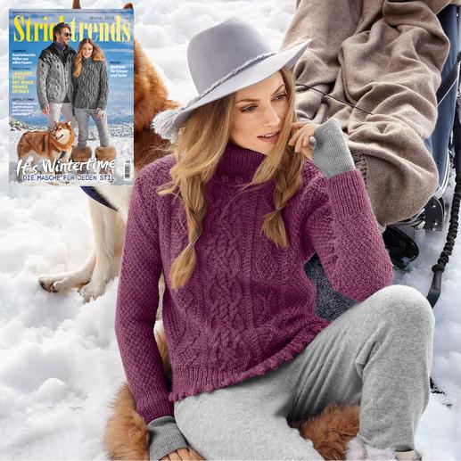 Anleitung 180/9, Damen Pullover aus Muse von Junghans-Wolle