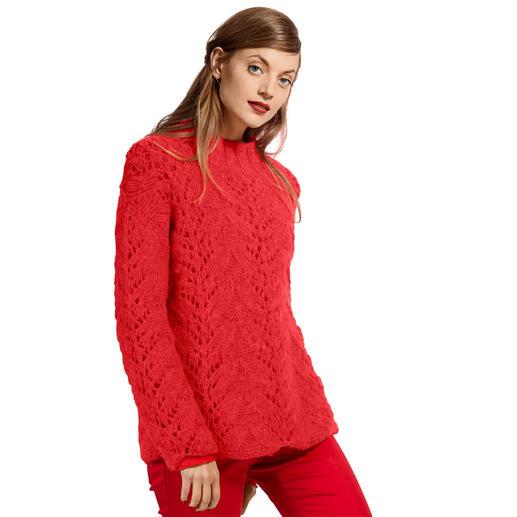 Anleitung 221/9, Pullover aus Alpaca Fluffy von Austermann®