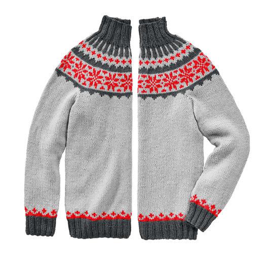 Anleitung 250/9, Pullover aus Peru von Junghans-Wolle