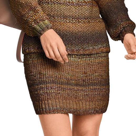 Anleitung 471/9, Rock aus Monello-175 Color und Monello-90 Color von Junghans-Wolle