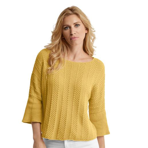 Anleitung 087/0, Pullover aus Organic Cotton von Schachenmayr