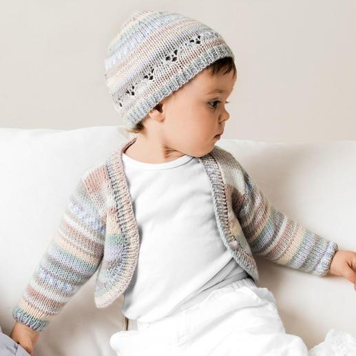 Anleitung 098/0, Baby-Bolero und -Mütze aus Baby Dream dk von Rico Design