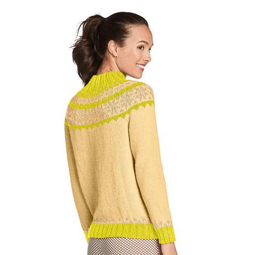Anleitung 204/0, Pullover aus Peru von Junghans-Wolle