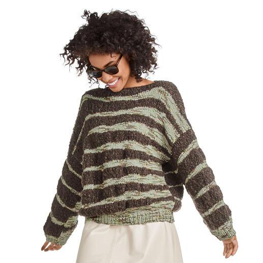 Anleitung 209/0, Pullover aus Cara und Visca von Junghans-Wolle