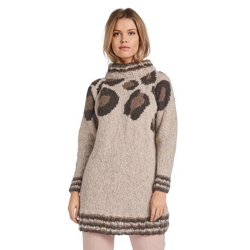 Anleitung 402/0, Pullover aus Cara und Feelana von Junghans-Wolle