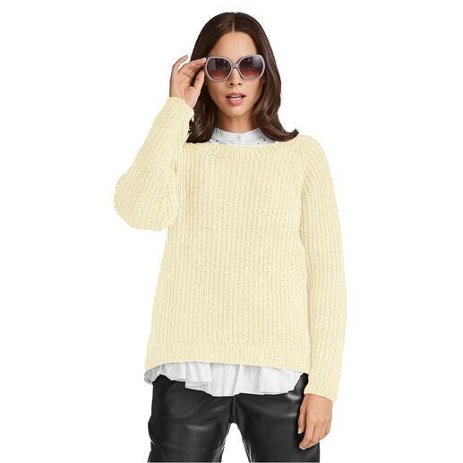 Anleitung 404/0, Pullover aus Onda von Junghans-Wolle