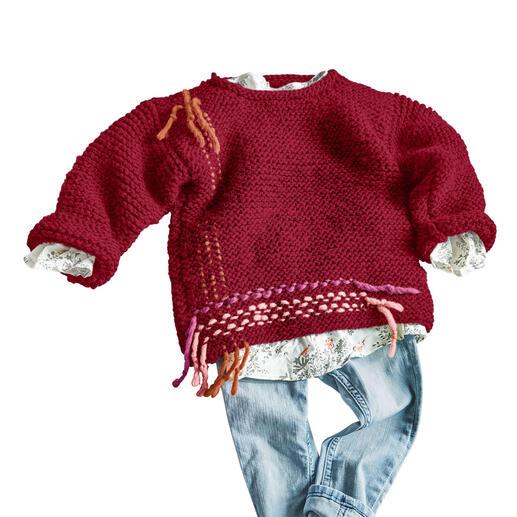 Anleitung 443/0, Kinder Pulli aus Canoso von Junghans-Wolle