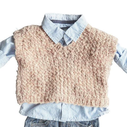 Anleitung 106/1, Babypullunder aus Cara von Junghans-Wolle