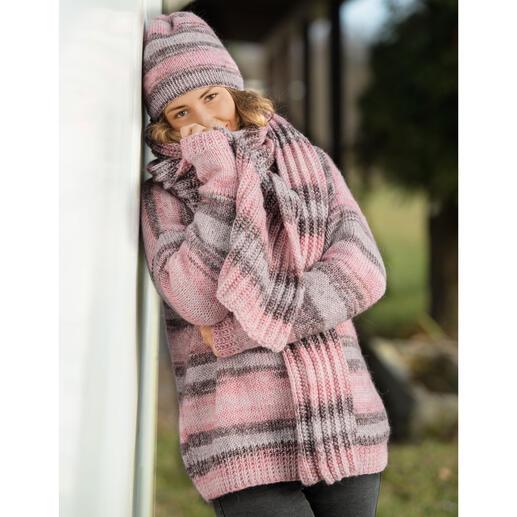 Anleitung 214/1, Pullover aus Mohana von Gründl