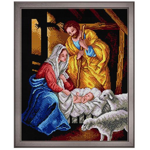 Klassisches Gobelinbild - Heilige Familie