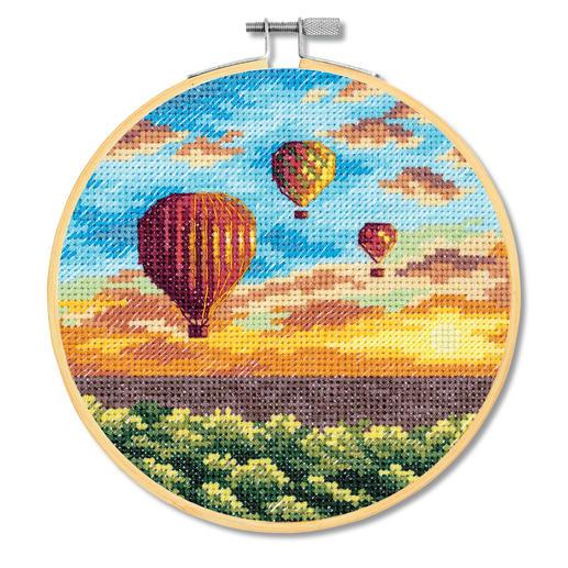 Stickbild - Heissluftballons