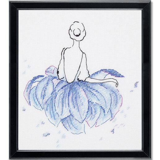 Stickbild - Lotus-Ballerina