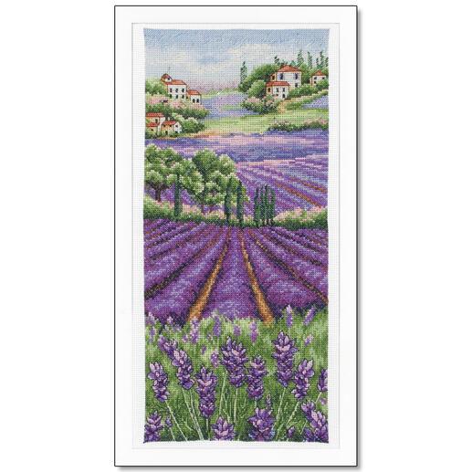 Kreuzstichbild - Provence Lavender