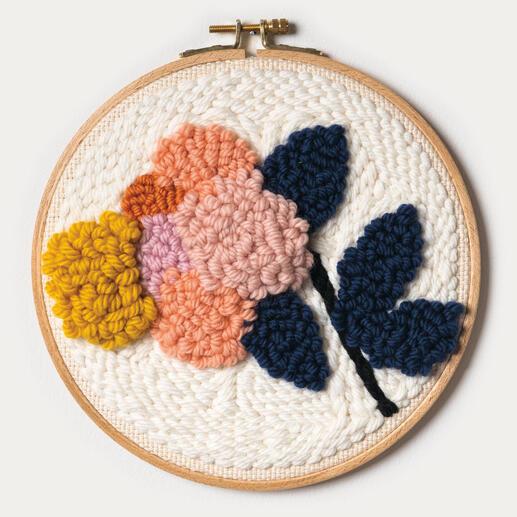 Punch Needle Set - Blume