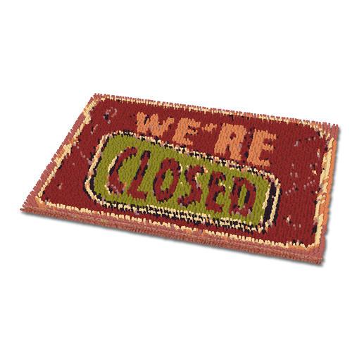 Fussmatte - We're closed