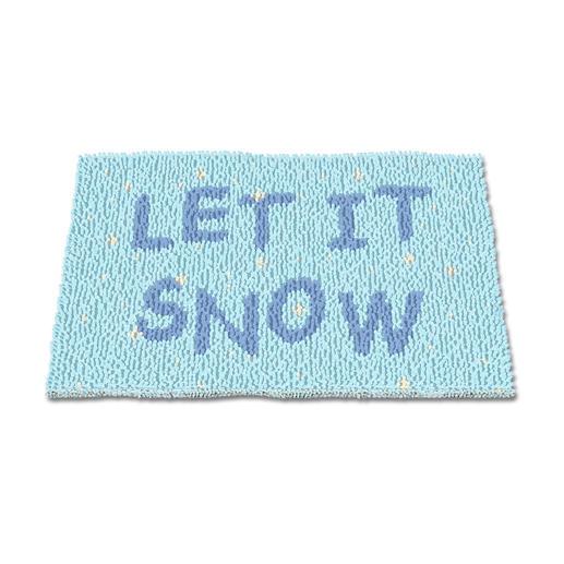 Fussmatte - Let it snow