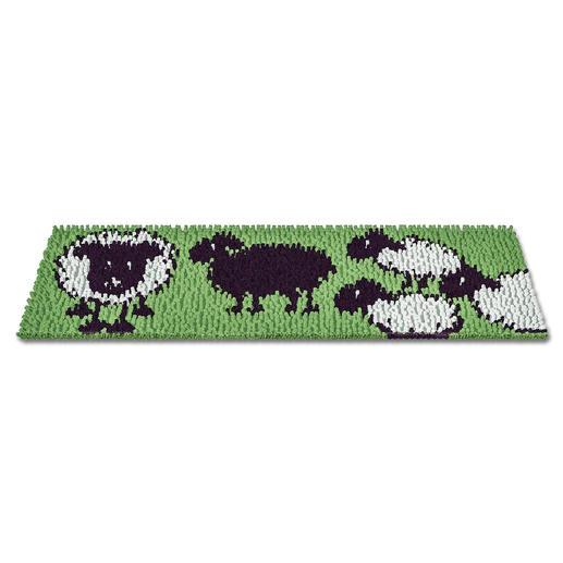 Fussmatte - Schwarzes Schaf