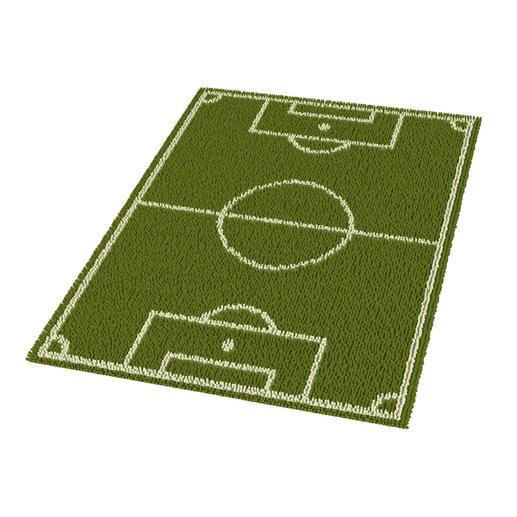 Teppich - Fussballfieber