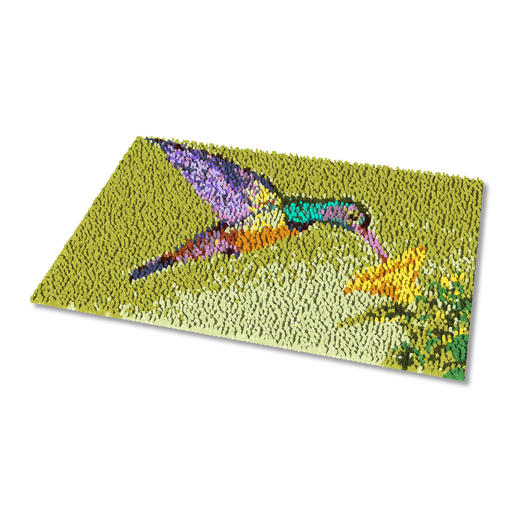 Fussmatte - Kolibri