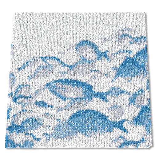 Wandbehang - Eiswasser