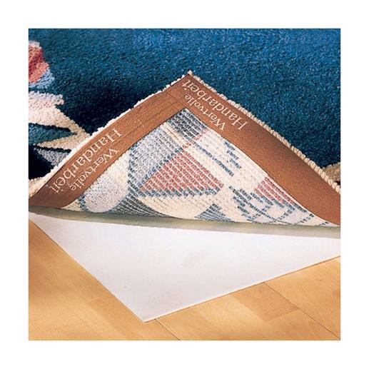 Teppich-Unterlage Rutschfest, trittelastisch und isolierend.
