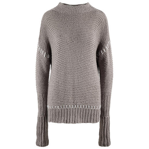 Anleitung 001 Endless Drifter, Pullover aus Happiness von WOOLADDICTS by Lang Yarns