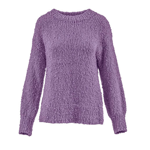 Anleitung 005 Fuzzy Feeling, Pullover aus Liberty von WOOLADDICTS by Lang Yarns