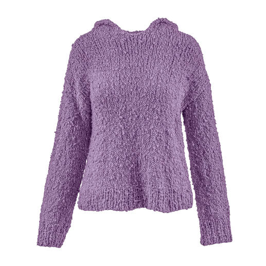 Anleitung 006 Brilliant Bubble, Pullover mit Kapuze aus Liberty von WOOLADDICTS by Lang Yarns