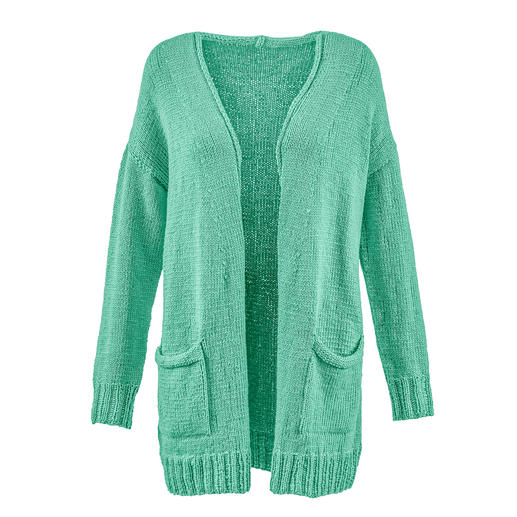 Anleitung 021 Happy Habit, Jacke aus Happiness von WOOLADDICTS by Lang Yarns
