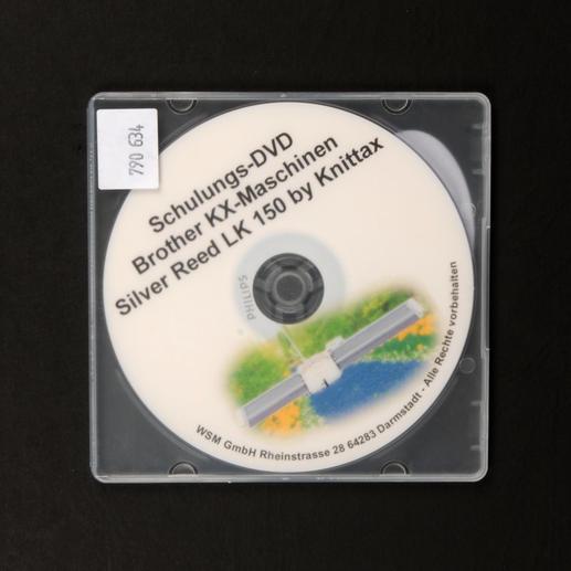 Lern-DVD für die Silver Reed®  LK 150