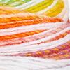 Weiss/Orange/Grün