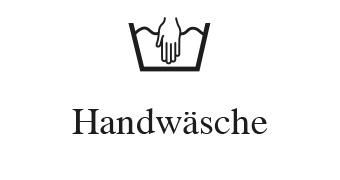Wasch- und Pflegesymbole - Handwäsche