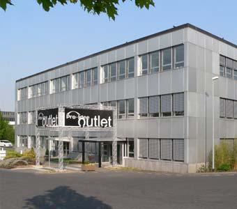 Das Firmengebäude in der Gut-Dämme-Straße in Aachen